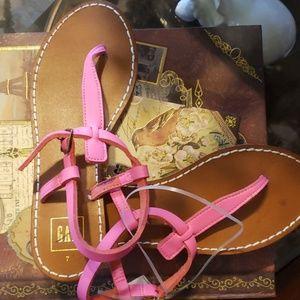 New Pink GAP sandals